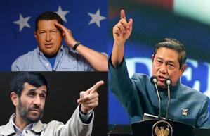 Chavez Ahmadinejad SBY